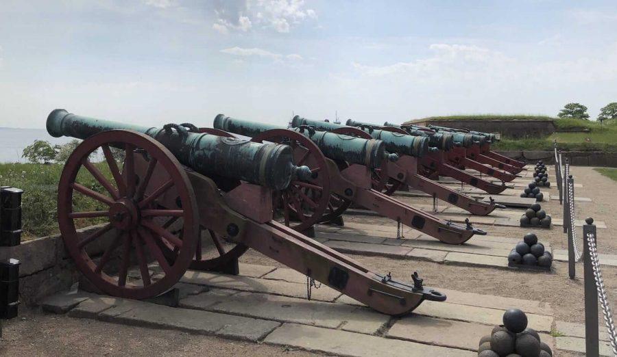 克伦堡炮台