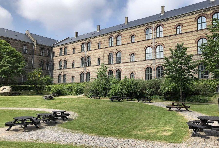 哥本哈根大学内建筑