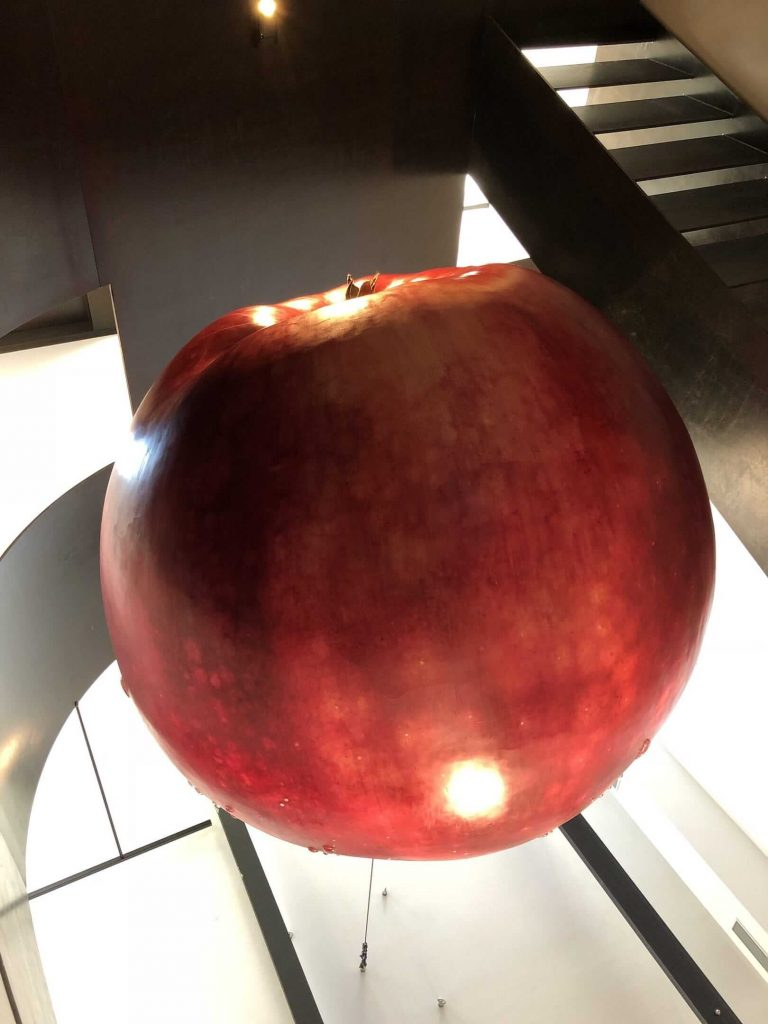 安徒生历史文化博物馆大苹果模型