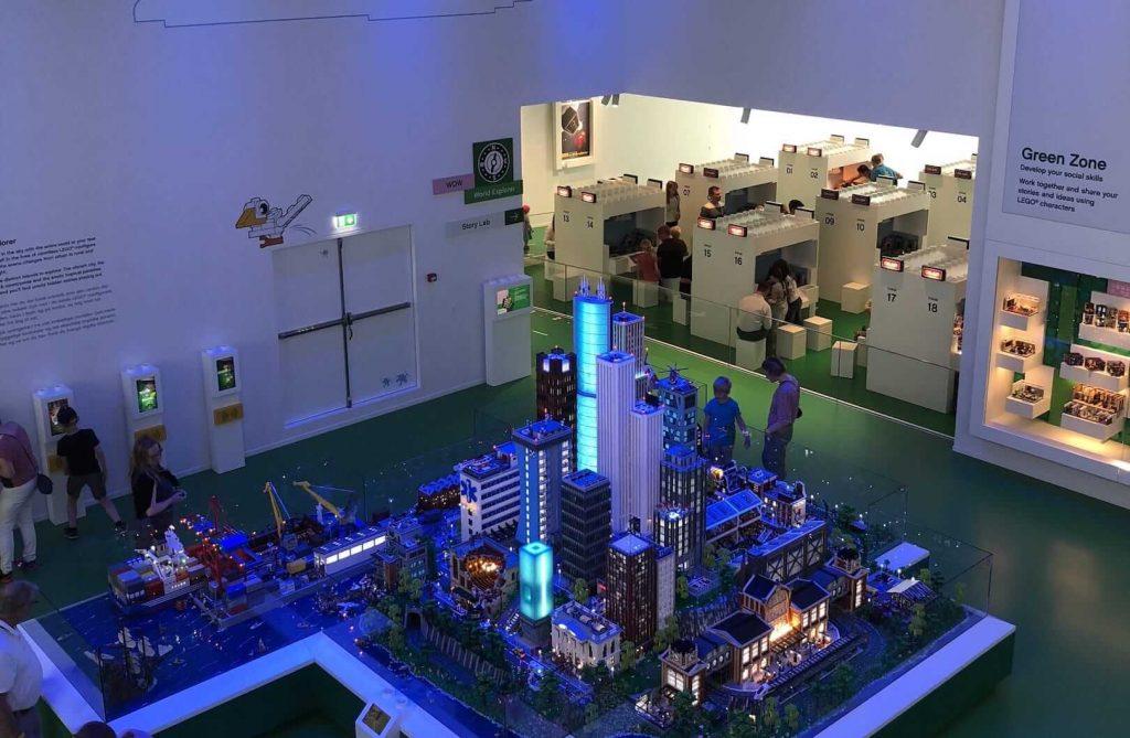 乐高城市模型