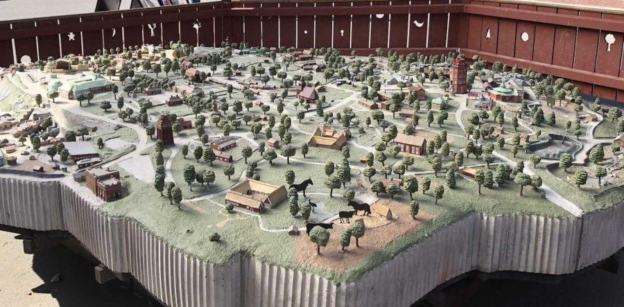 斯堪森露天博物馆地图