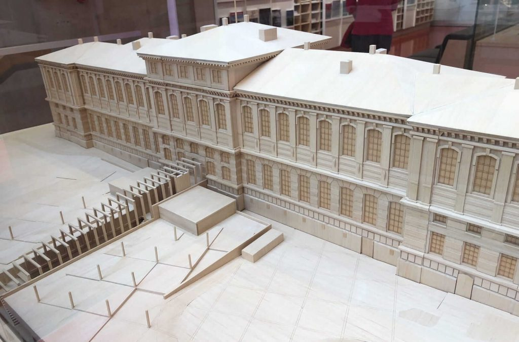 瑞典皇家图书馆模型