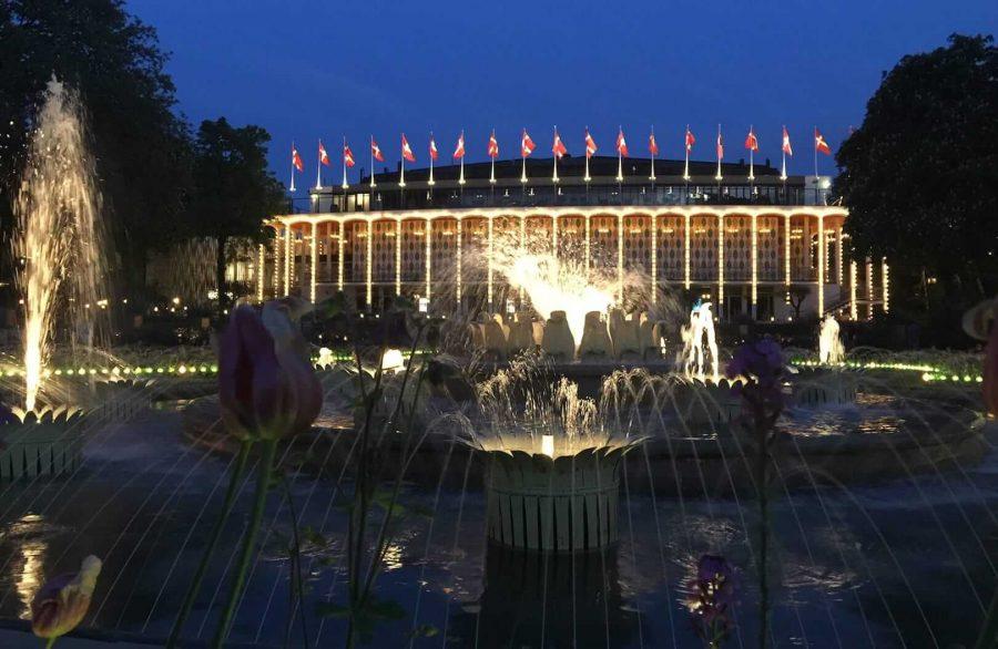 趣伏里公园喷泉