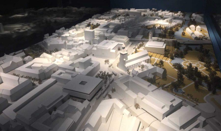 安徒生历史文化博物馆小镇地图